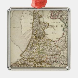 Netherlands and Belgium 3 Christmas Ornament