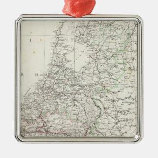 Netherlands and Belgium 4 Christmas Ornaments