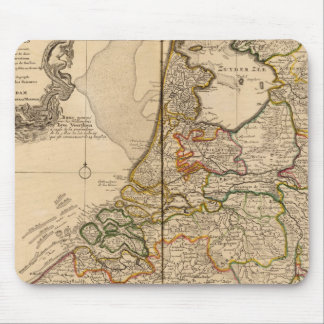 Netherlands and Belgium Mouse Mat