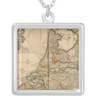 Netherlands and Belgium Silver Plated Necklace
