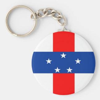 Netherlands Antilles flag Key Chains