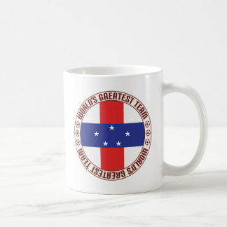 Netherlands Antilles Greatest Team Basic White Mug