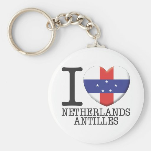Netherlands Antilles Key Chains