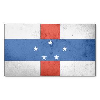 Netherlands Antilles Magnetic Business Cards