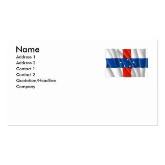 NETHERLANDS ANTILLES PACK OF STANDARD BUSINESS CARDS