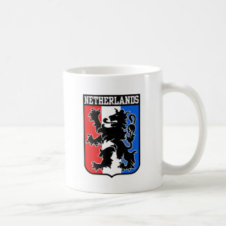 Netherlands Basic White Mug