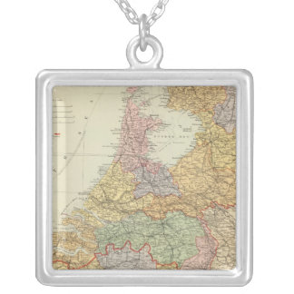 Netherlands, Belgium 2 Silver Plated Necklace