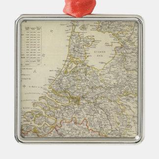 Netherlands, Belgium Christmas Ornament