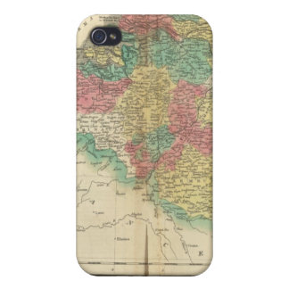 Netherlands, Beligium Atlas Map Covers For iPhone 4
