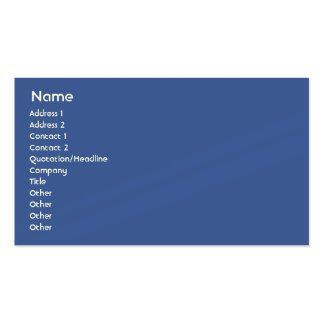 Netherlands - Business Double-Sided Standard Business Cards (Pack Of 100)