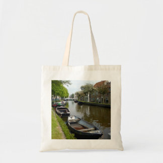 Netherlands Canal & Boats Budget Tote Bag