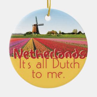 NETHERLANDS CHRISTMAS ORNAMENT