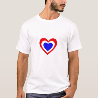 Netherlands/Dutch Flag inspired hearts T-Shirt