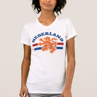 Netherlands Dutch Lion and Flag T-Shirt
