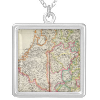 Netherlands, Europe 13 Silver Plated Necklace