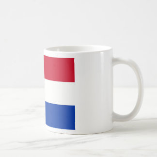 Netherlands flag basic white mug