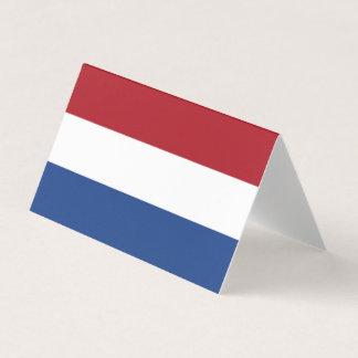 Netherlands Flag Business Card