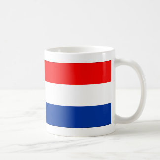Netherlands flag coffee mug