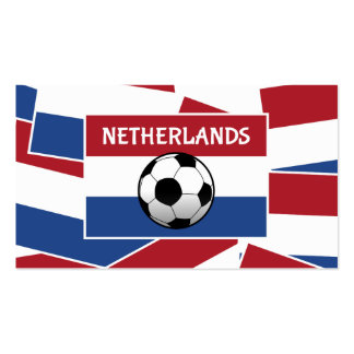 Netherlands Flag Football Double-Sided Standard Business Cards (Pack Of 100)