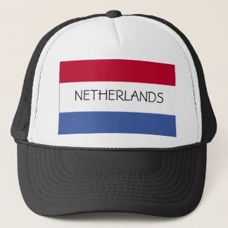 Netherlands Flag Hat