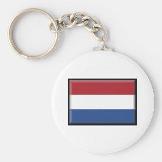 Netherlands Flag Keychains