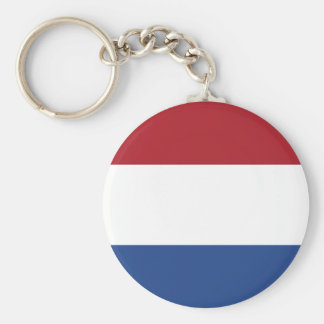 Netherlands Flag Keychain