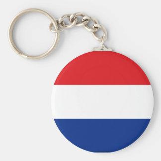 Netherlands flag keychain