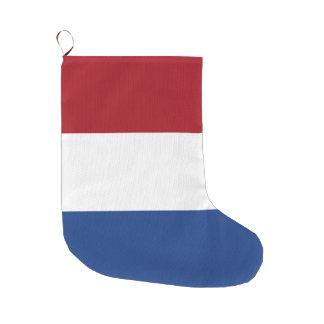 Netherlands Flag Large Christmas Stocking