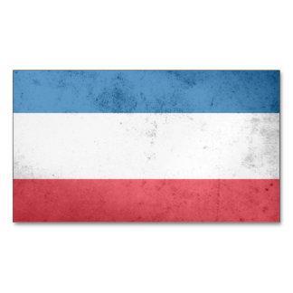 Netherlands Flag Magnetic Business Cards