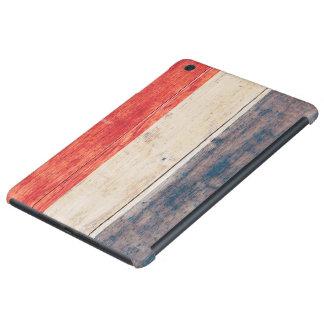 Netherlands Flag on Wood iPad Mini Retina Case