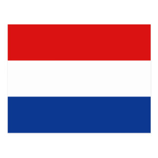 Netherlands Flag Postcard