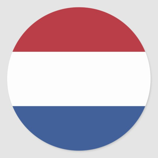 Netherlands Flag Sticker