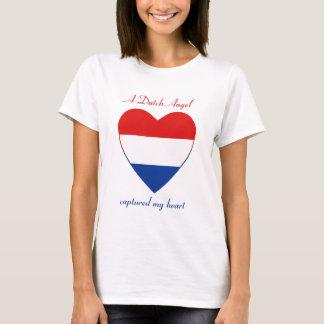 Netherlands Flag Sweetheart T-Shirt