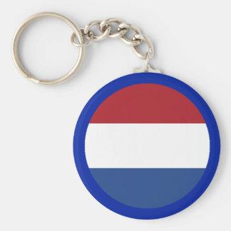 Netherlands Flag The MUSEUM Zazzle Keychains
