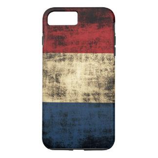 Netherlands Flag Vintage Grunge iPhone 7 Plus Case
