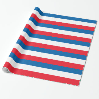 Netherlands Flag Wrapping Paper