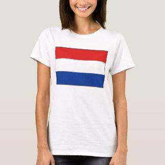 Netherlands Flag x Map T-Shirt