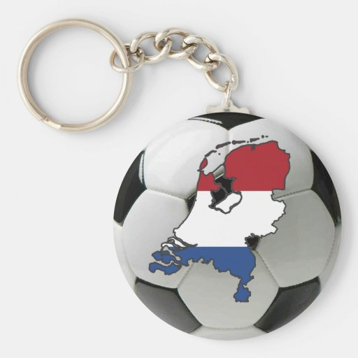 Netherlands football key chains