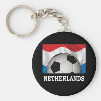 Netherlands Football Key Chain