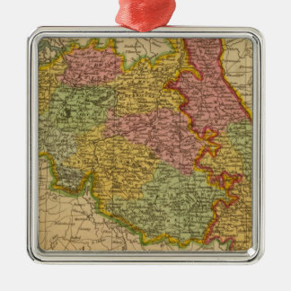 Netherlands, Germany W of Rhine Christmas Ornament