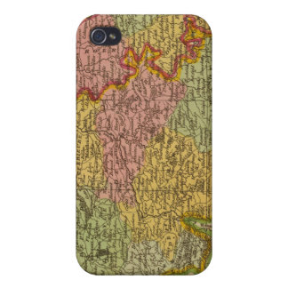 Netherlands Germany W of Rhine iPhone 4/4S Cases