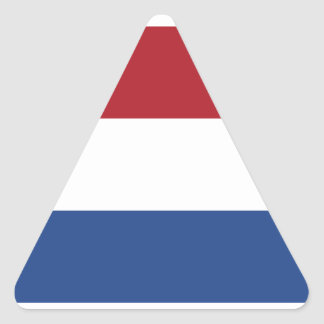 Netherlands/Holland/Dutch/Hollander Flag Triangle Sticker