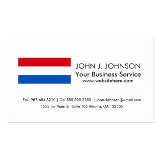Netherlands Holland Flag Pack Of Standard Business Cards