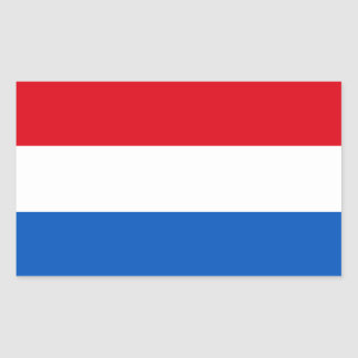 Netherlands Holland Flag Rectangular Sticker