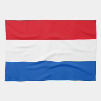 Netherlands Holland Flag Tea Towel