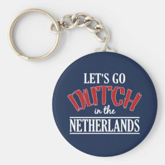 Netherlands key chain - choose style & size