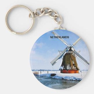 NETHERLANDS KEYCHAIN
