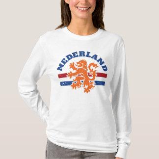 Netherlands Lion and Dutch Flag T-Shirt