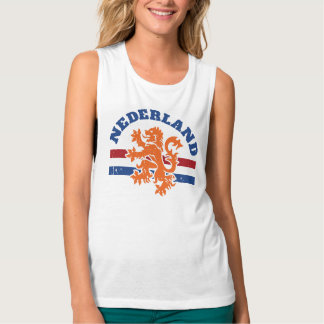 Netherlands Lion and Flag Tank Top