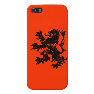 Netherlands Lion iPhone 5/5S Case
